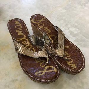 Sam Edelman Leather & Cork Sandals